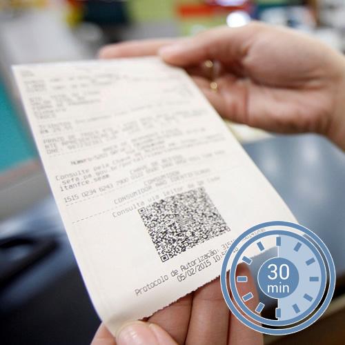 Prazo para cancelar NFCe será de apenas 30 minutos